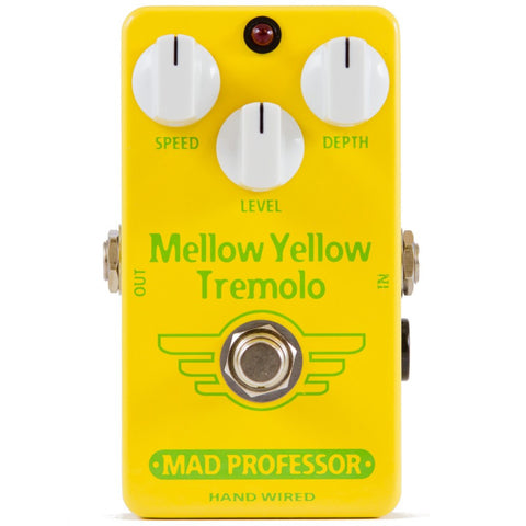 Mad Professor Mellow Yellow Tremolo Guitar Pedal Hand Wired Edition-ThePedalGuy