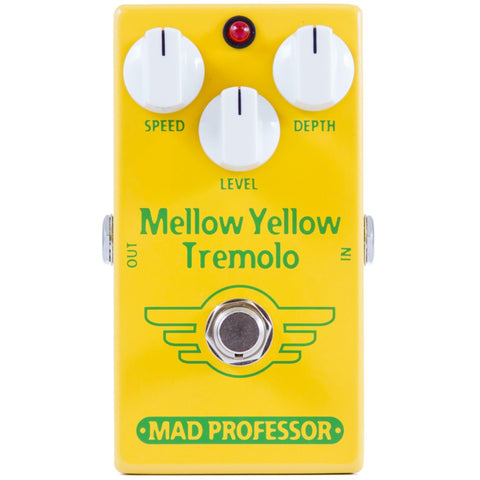 Mad Professor Mellow Yellow Tremolo Guitar Pedal-ThePedalGuy