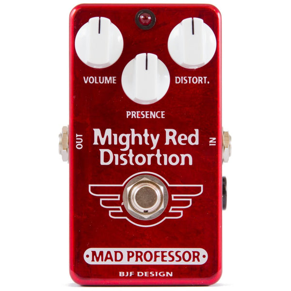Mad Professor Mighty Red Distortion Pedal-ThePedalGuy