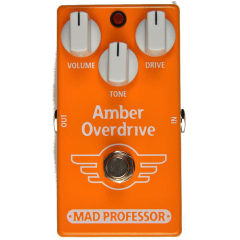 Mad Professor Amber Overdrive Guitar Pedal-ThePedalGuy