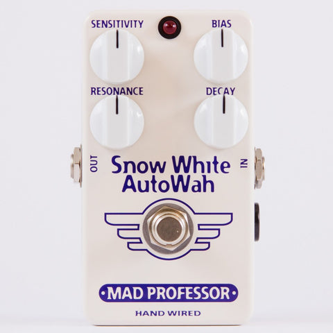 Mad Professor Snow White Guitar Autowah Pedal Hand Wired Edition-ThePedalGuy