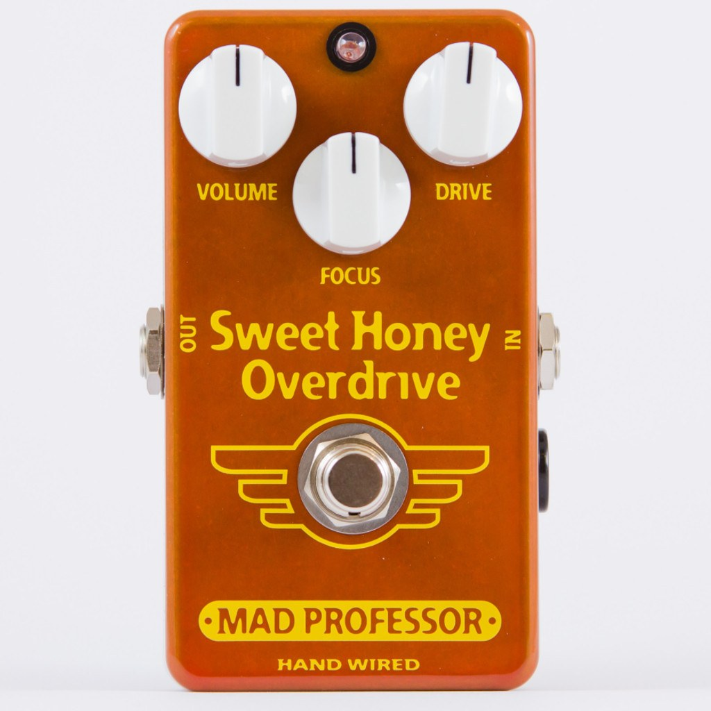 Mad Professor Sweet Honey Overdrive Pedal Hand Wired Edition-ThePedalGuy