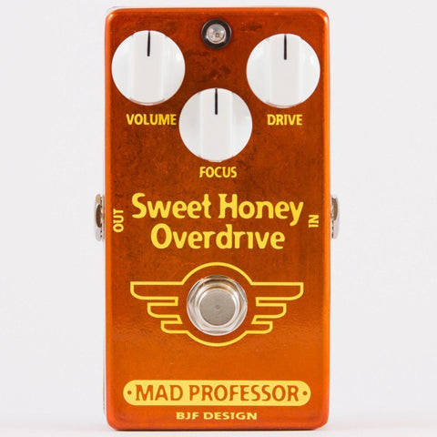 Mad Professor Sweet Honey Overdrive Deluxe Pedal-ThePedalGuy