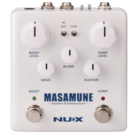 NuX Masamune Verdugo Series Compressor Pedal-ThePedalGuy