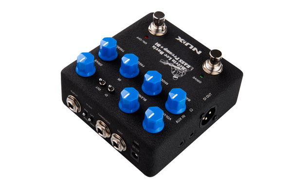 NuX Melvin Lee Davis Signature Bass Preamp + DI-ThePedalGuy