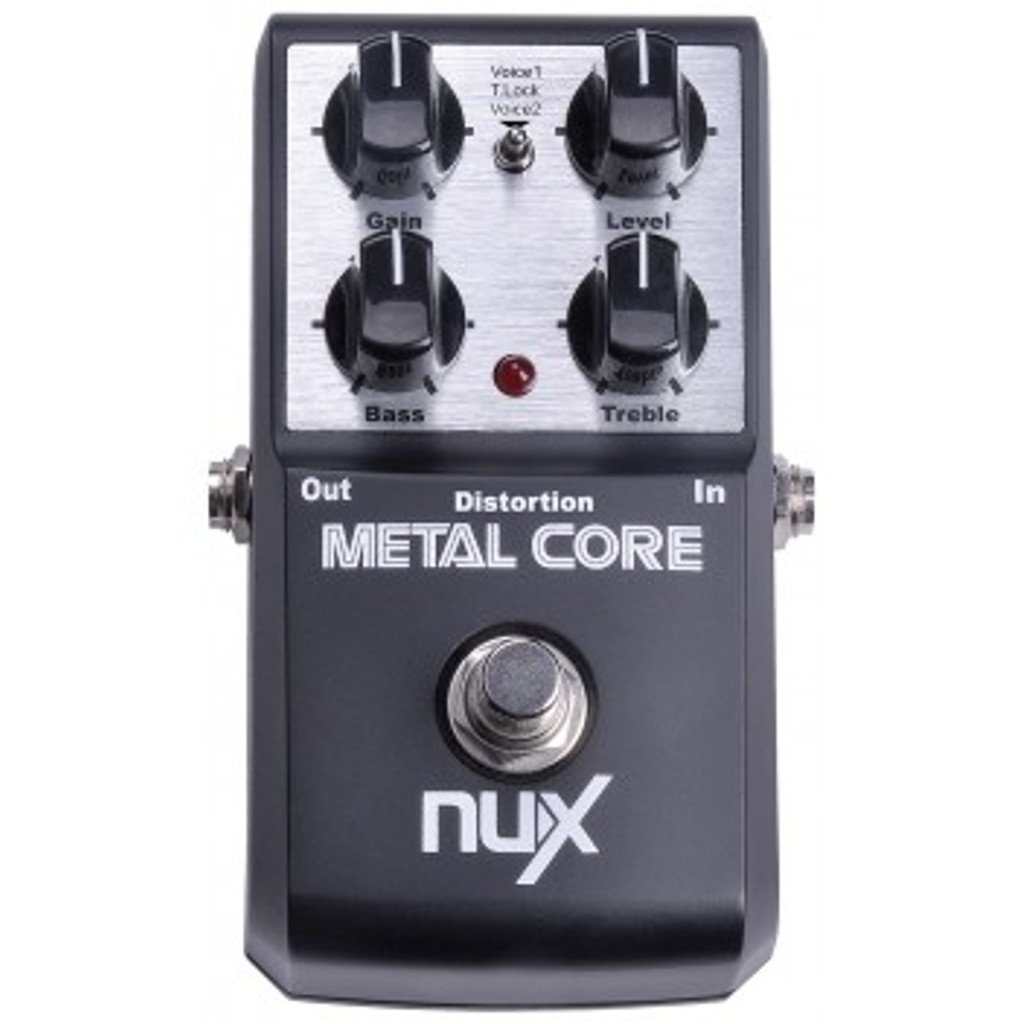 NuX Metal Core Distortion Pedal-ThePedalGuy