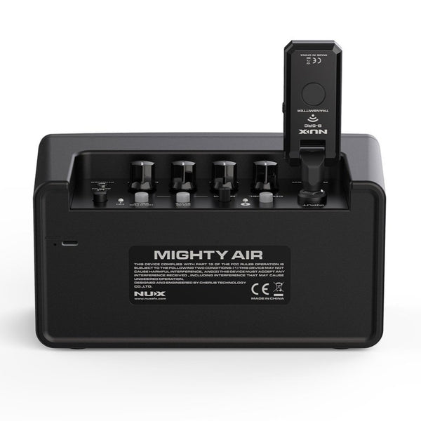 NuX Mighty Air Wireless 4W Stereo Modeling Amplifier Includes Transmitter OPEN BOX-ThePedalGuy