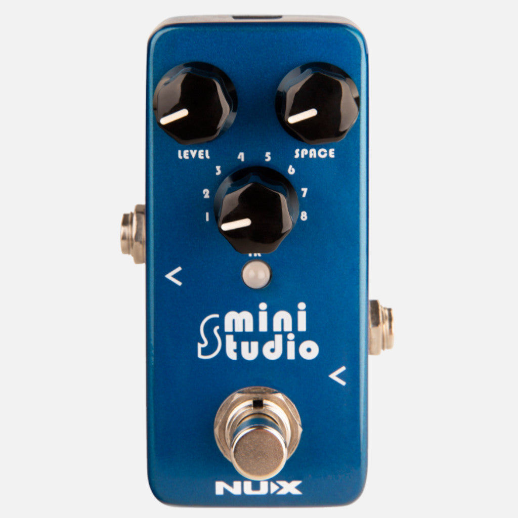 NuX Mini Studio IR Loader Pedal Open Box-ThePedalGuy