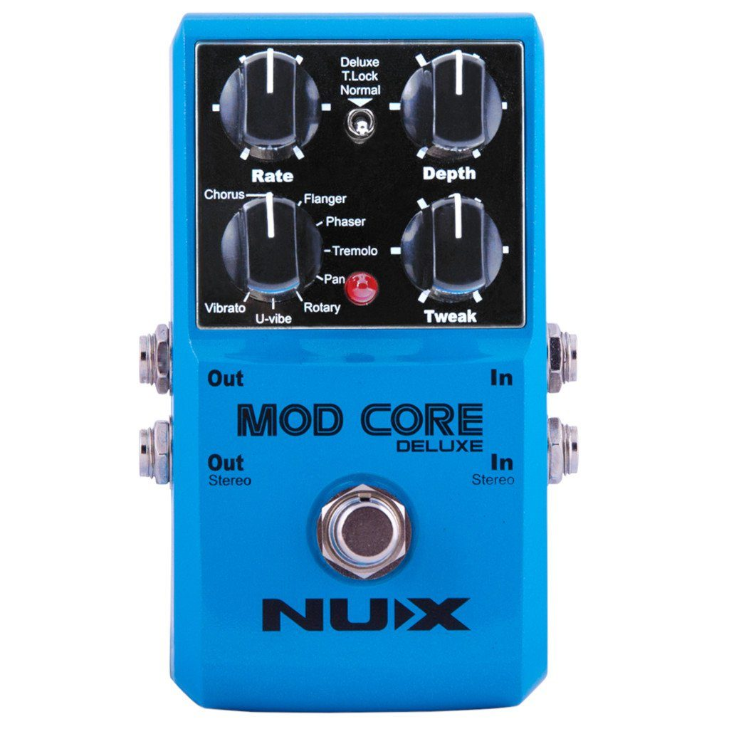 NuX Mod Core Deluxe Modulation Effects Pedal-ThePedalGuy