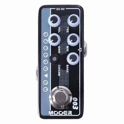 Mooer M003 Power-Zone Micro Preamp Pedal-ThePedalGuy