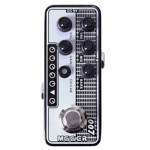 Mooer M007 Regal Tone Micro Preamp Pedal-ThePedalGuy
