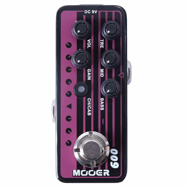 Mooer M009 Blacknight Micro Preamp Pedal-ThePedalGuy