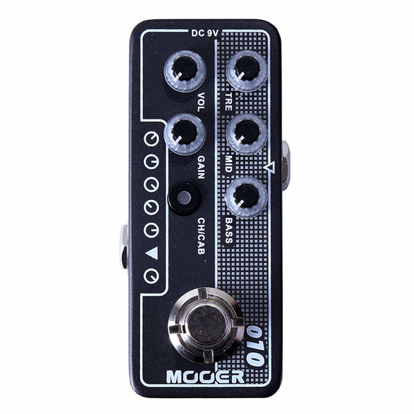 Mooer M010 Two Stone Micro Preamp Pedal-ThePedalGuy