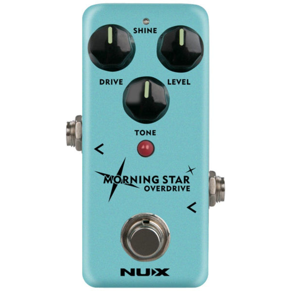 NUX Morning Star Overdrive Pedal Open Box-ThePedalGuy