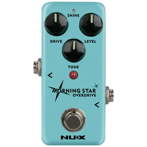 NUX Morning Star Overdrive Pedal-ThePedalGuy