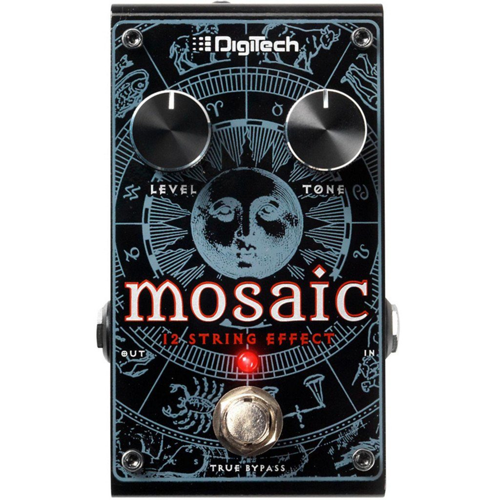 DigiTech Mosaic Polyphonic 12-String Effect Pedal Open Box-ThePedalGuy