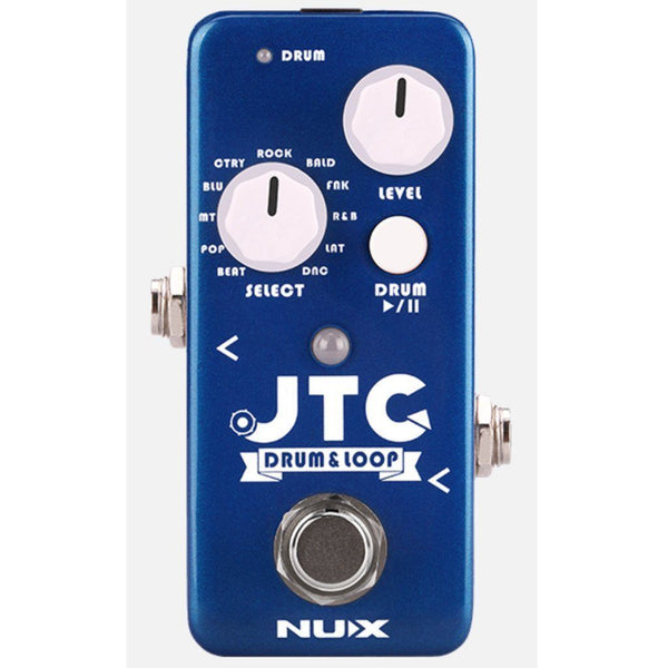 NUX Mini Core JTC JTC 24-Bit Drum & Loop Pedal-ThePedalGuy