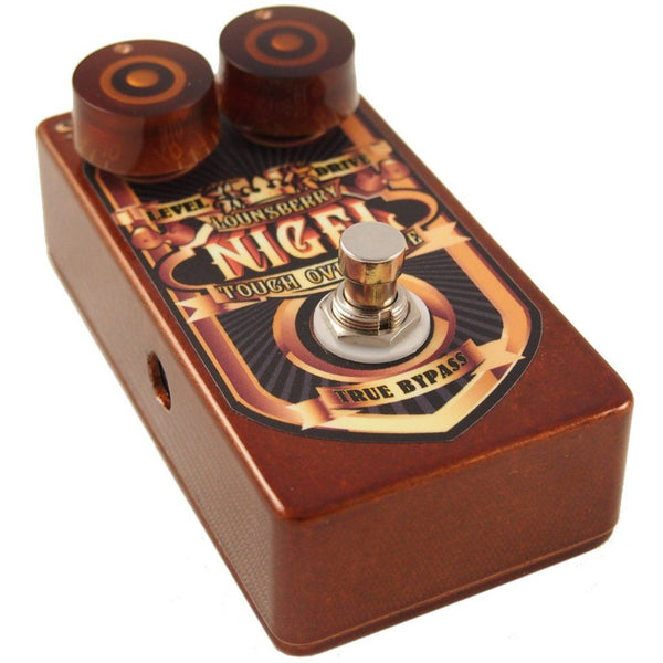 Lounsberry Pedals NTO-1 Nigel Overdrive Pedal-ThePedalGuy