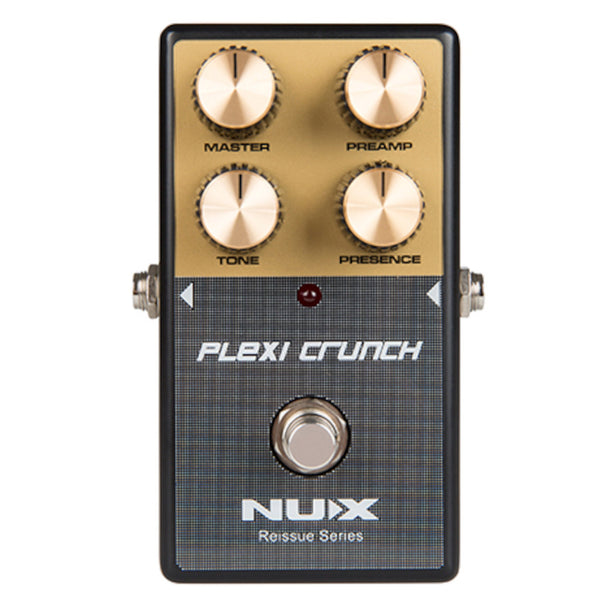 NuX Plexi Crunch Distortion Reissue Series Pedal Based on Marshall Plexi Amp-ThePedalGuy