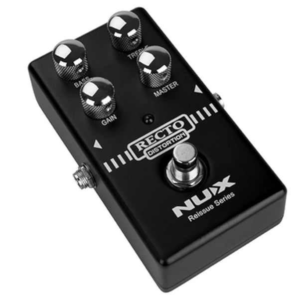 NuX Recto Distortion Reissue Series Pedal Based on Mesa Rectifier Amp-ThePedalGuy