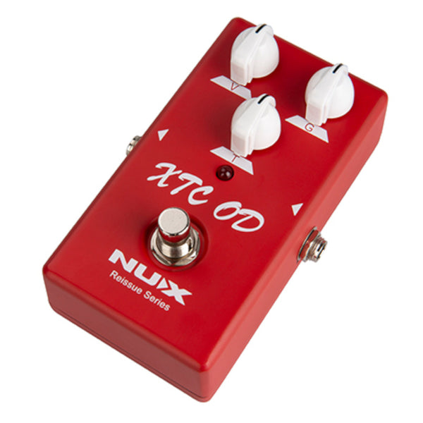 NuX XTC OD Overdrive Reissue Series Pedal Based on Bogner Ecstasy Red Channel-ThePedalGuy