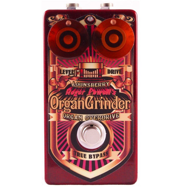 Lounsberry Pedals OGO-1 Organ Grinder Preamp Pedal-ThePedalGuy