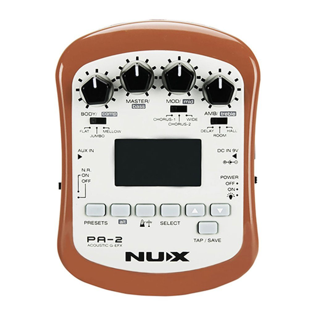 NuX PA-2 Portable Acoustic Guitar Effects-ThePedalGuy