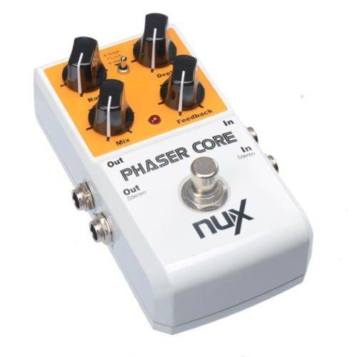 NuX Phaser Core Pedal for Guitar and Bass-ThePedalGuy