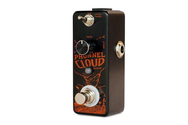 Outlaw Pedals Phunnel Cloud 2 Mode Phaser Pedal-ThePedalGuy