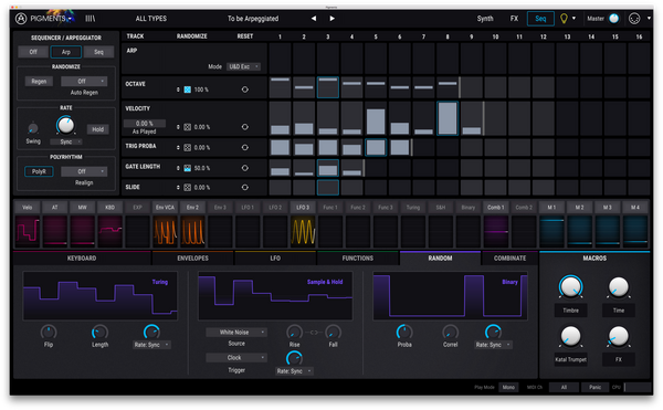 Arturia Pigments 2 Software Synthesizer [Digital Download]-ThePedalGuy