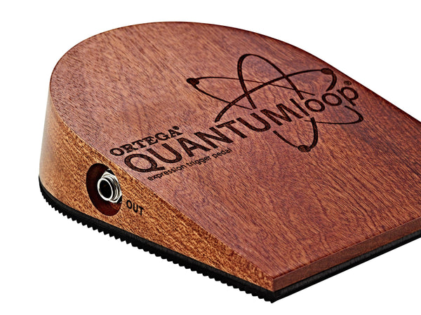 Ortega QUANTUMloop Bundle with QUANTUMexp Trigger Pedal OPEN BOX-ThePedalGuy