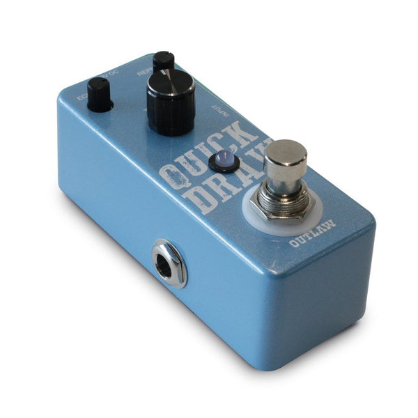 Outlaw Pedals QUICK DRAW Delay Pedal-ThePedalGuy