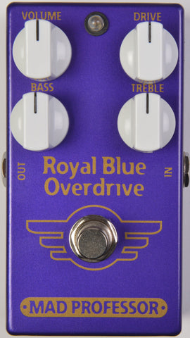 Mad Professor Royal Blue Overdrive Pedal-ThePedalGuy