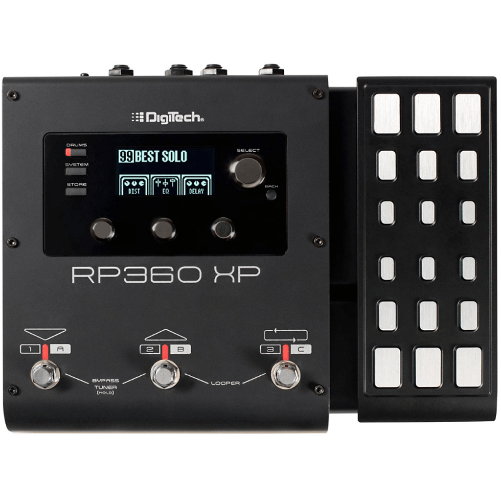 DigiTech RP360 XP Guitar Multi-Effect Floor Processor with USB Streaming and Expression Pedal-ThePedalGuy