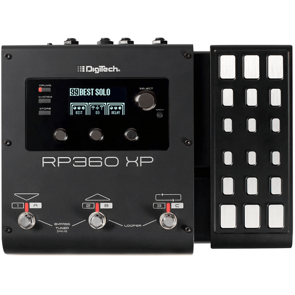 DigiTech RP360 XP Guitar Multi-Effect Floor Processor with USB Streaming and Expression Pedal Open Box-ThePedalGuy
