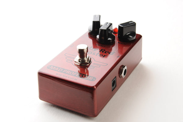 Mad Professor Ruby Red Booster Overdrive Pedal-ThePedalGuy