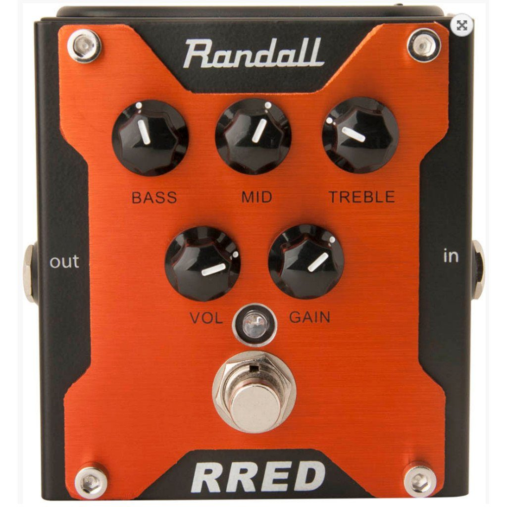 Randall RRED Channel Overdrive Pedal B Stock-ThePedalGuy