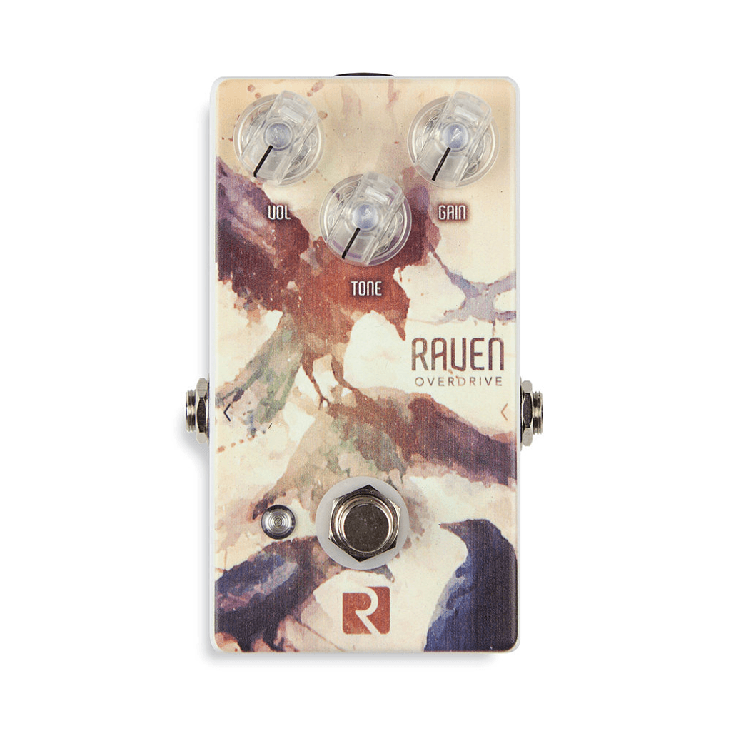 Rock Stock Raven V2 Overdrive Guitar Pedal-ThePedalGuy