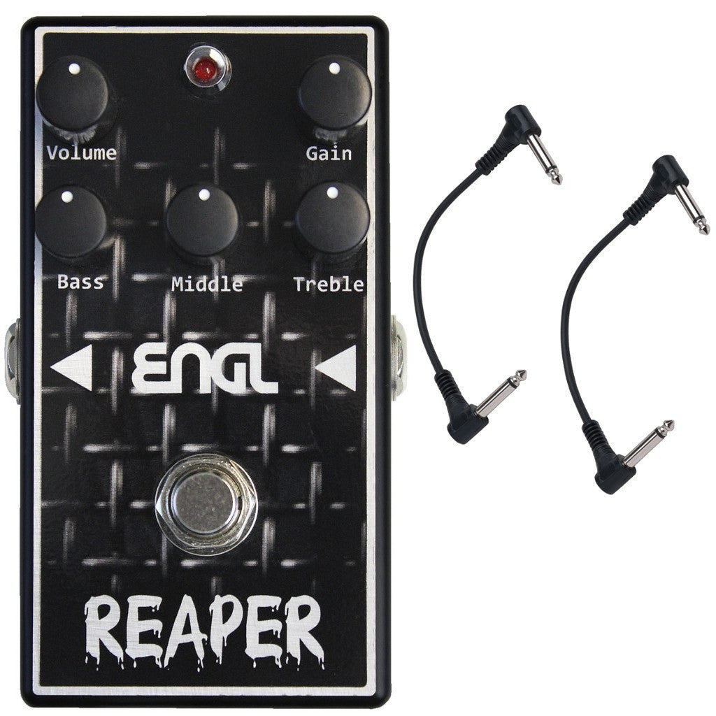 ENGL BC-10 Reaper Distortion Pedal with Two Patch Cables-ThePedalGuy