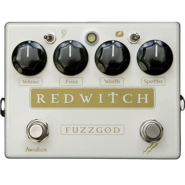 Red Witch Fuzz God II Guitar Pedal B Stock-ThePedalGuy