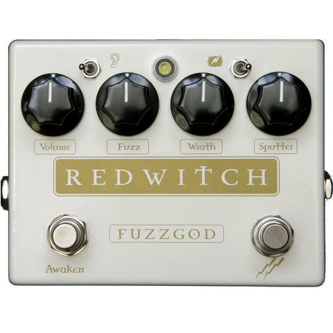 Red Witch Fuzz God II Guitar Pedal-ThePedalGuy