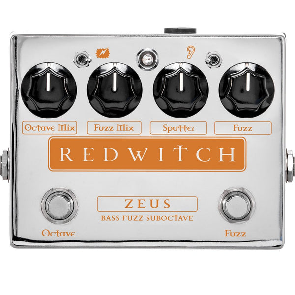 Red Witch Zeus Bass Fuzz Suboctave Pedal-ThePedalGuy