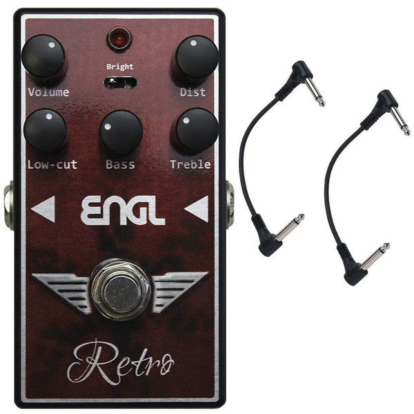 ENGL RS-10 Retro Overdrive Pedal with Two Patch Cables-ThePedalGuy