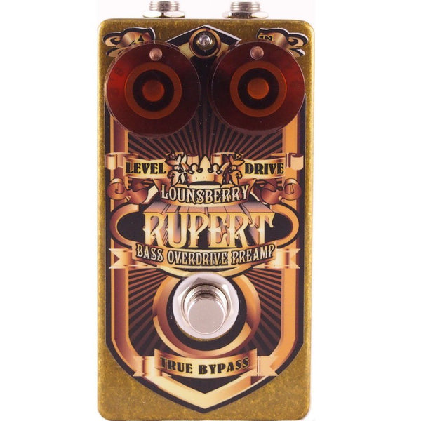 Lounsberry Pedals RBO-1 Rupert Bass Overdrive Pedal-ThePedalGuy