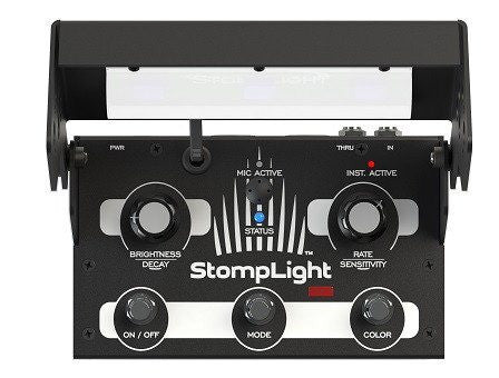 StompLight® DMX Pro lighting effect pedal - Black-ThePedalGuy