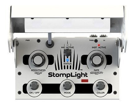 StompLight® DMX Pro lighting effect pedal - White-ThePedalGuy