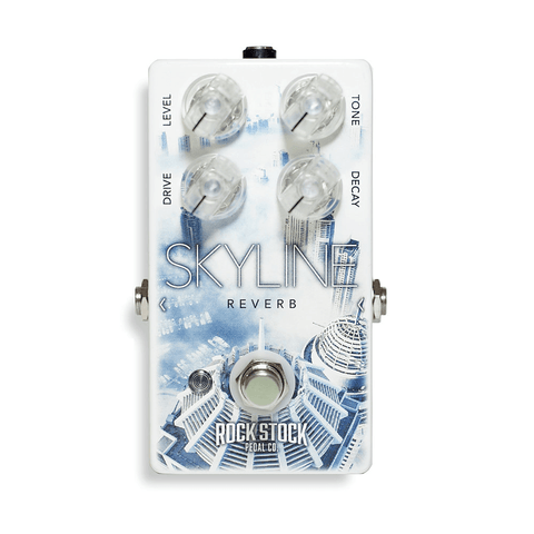 Rock Stock Skyline Reverb Pedal-ThePedalGuy