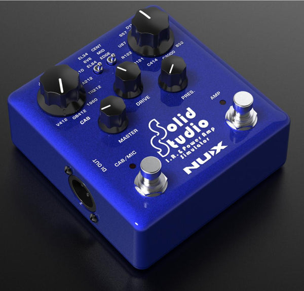 NuX Solid Studio IR and Power Amp Simulator Pedal-ThePedalGuy
