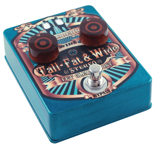Lounsberry Pedals TFW-1 Tall Fat and Wide Multi-Stage Analog Stereo FET Preamp-ThePedalGuy