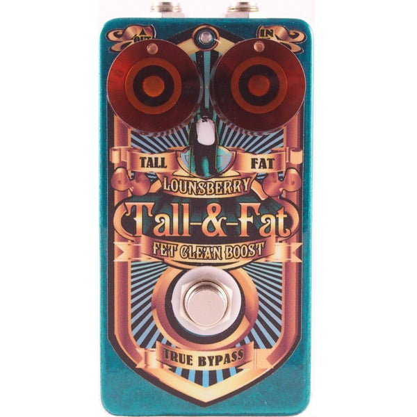 Lounsberry Pedals TFP-1 Tall and Fat Multi-Stage Analog FET Preamp OPEN BOX-ThePedalGuy